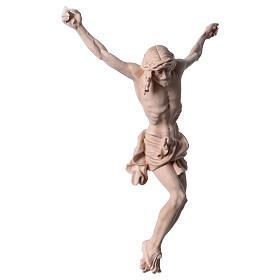 Corpo di Cristo in legno naturale s4