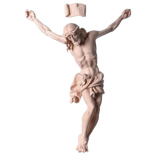 Corpo di Cristo in legno naturale 1