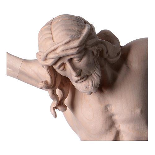 Corpo di Cristo in legno naturale 2