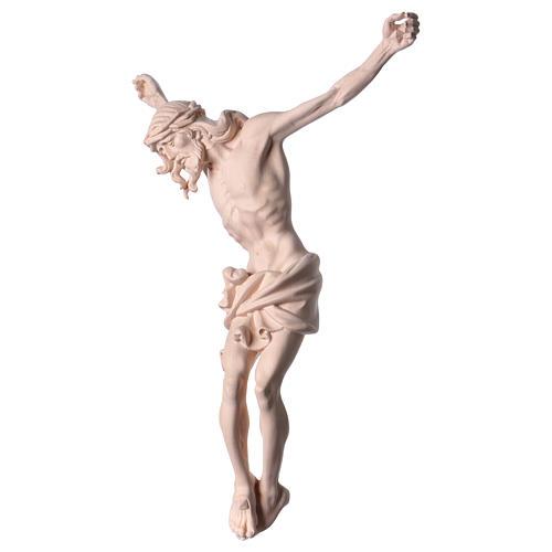 Corpo di Cristo in legno naturale 3