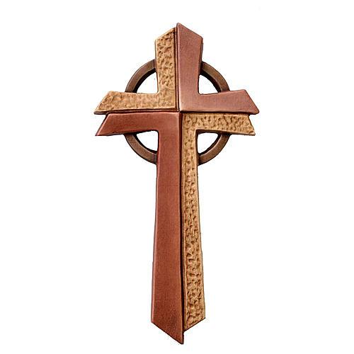Croce Betlehem in legno d'acero colorato 1