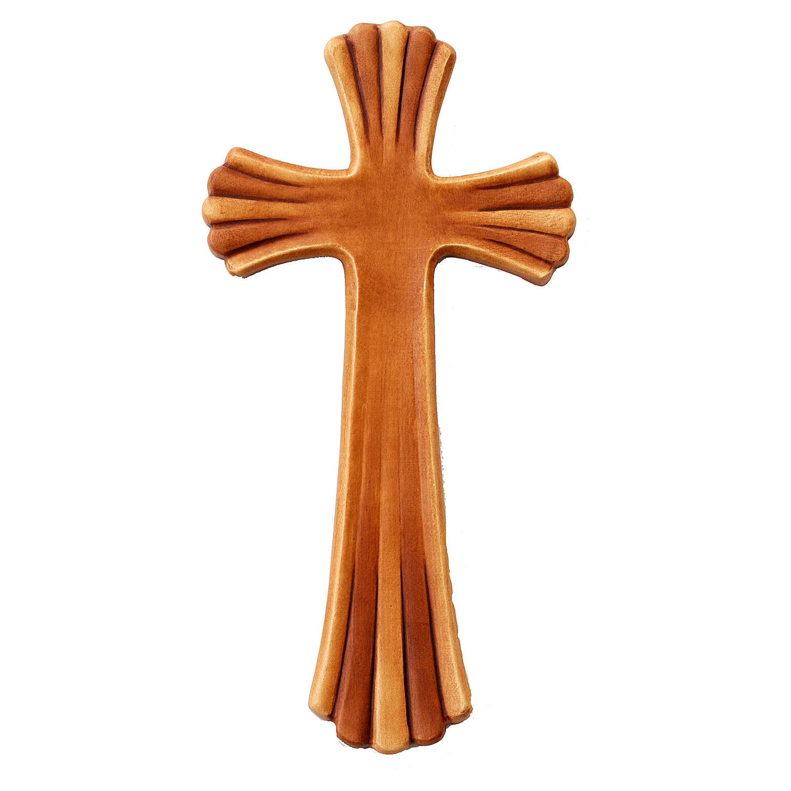 Croce Betlehem colore legno acero diverse tonalità marrone 4