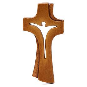 Croce Betlehem legno acero vari colori marrone s1