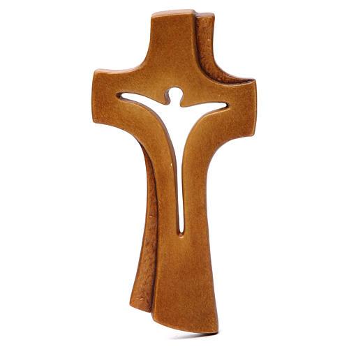 Croce Betlehem legno acero vari colori marrone 1