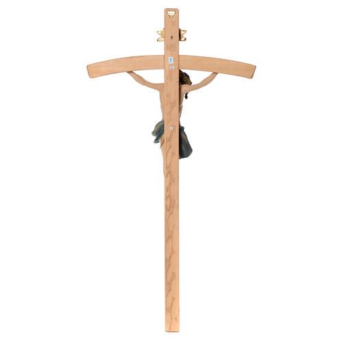 Crocefisso 75 cm in resina e legno 4