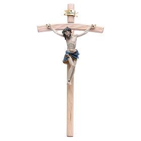 Crucifijo 55 cm resina y madera s1