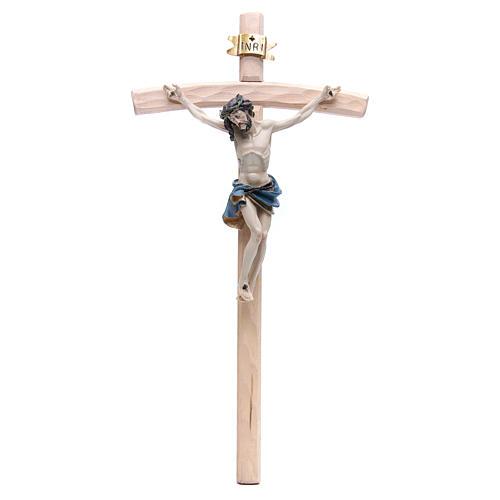 Crucifijo 55 cm resina y madera 1