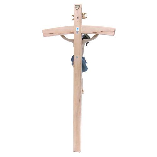 Crocefisso 55cm in resina e legno 4