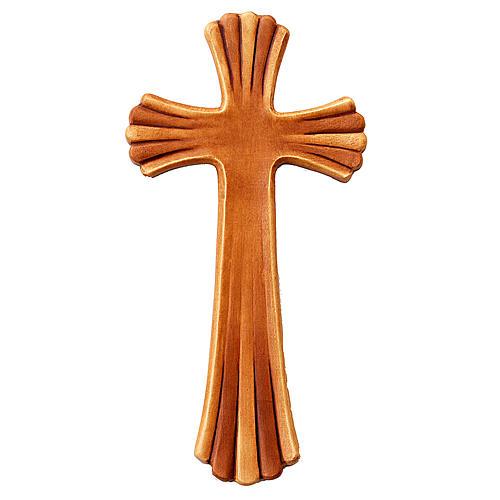 Croce Betlehem legno acero colorato 1