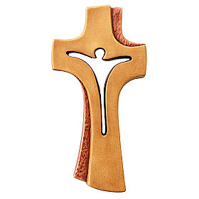 Croce Betlehem legno acero di vari colori s1