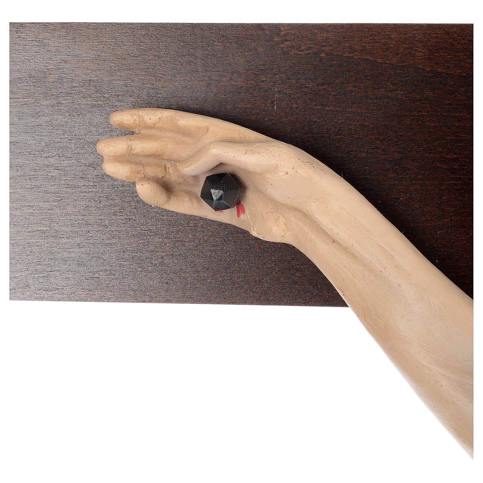 STOCK Crocifisso in legno 170x100 cm 4