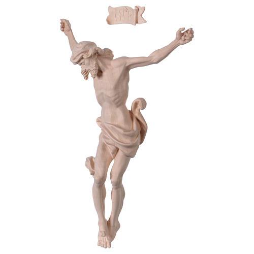 Corps de Christ Léonard bois naturel 3