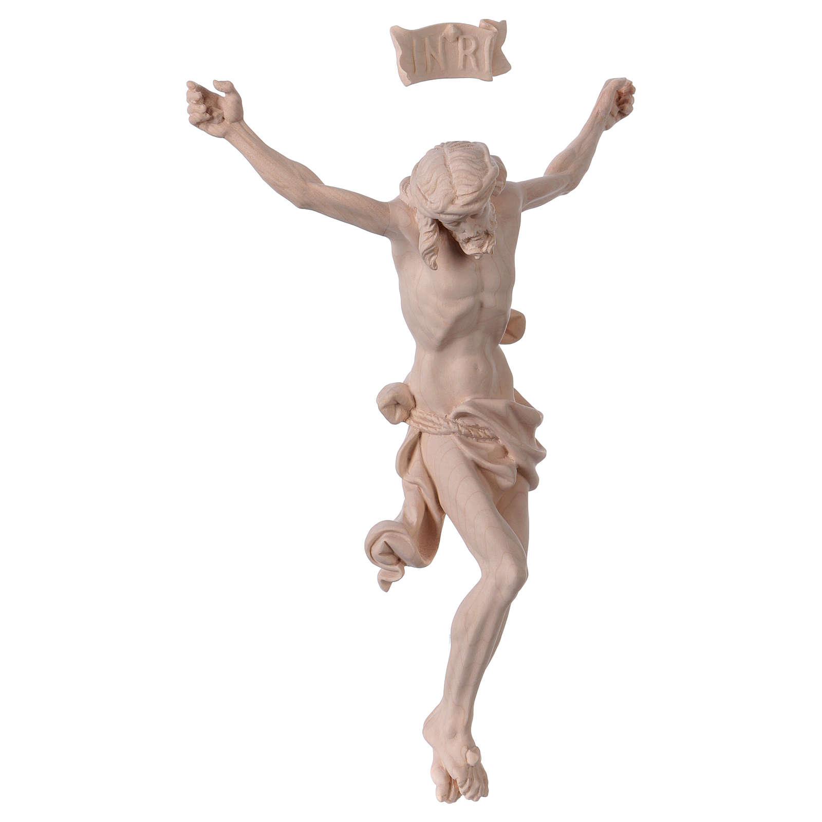 Corpo de Cristo Leonardo madeira natural 4