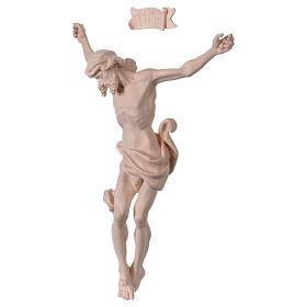 Christ's body Leonardo in natural wood s3