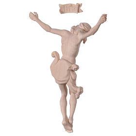 Christ's body Leonardo in natural wood s5