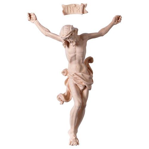 Christ's body Leonardo in natural wood 1