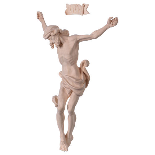 Christ's body Leonardo in natural wood 3
