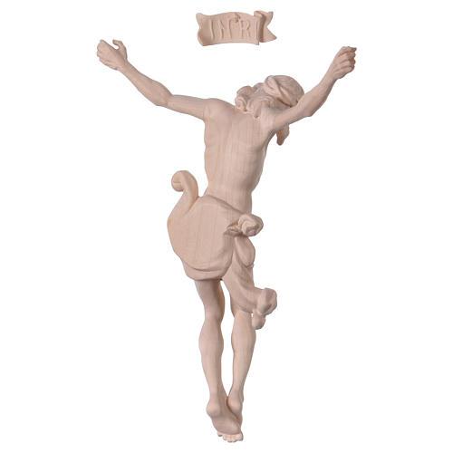 Christ's body Leonardo in natural wood 5