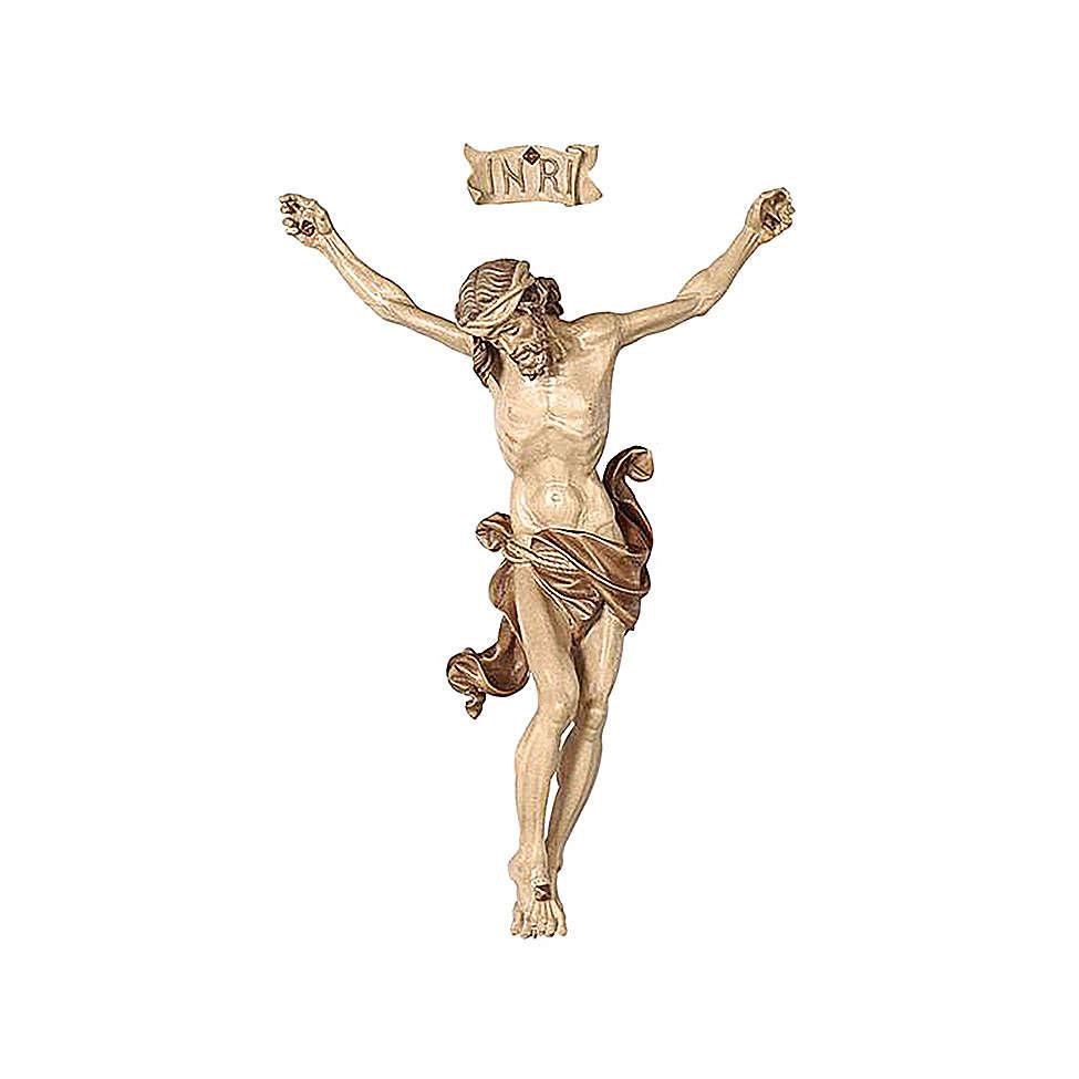 Leib Christi Mod. Leonardo Grödnertal Holz braunfarbig 4