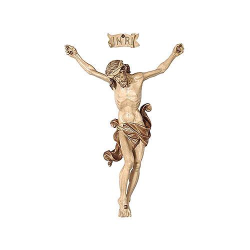 Leib Christi Mod. Leonardo Grödnertal Holz braunfarbig 1