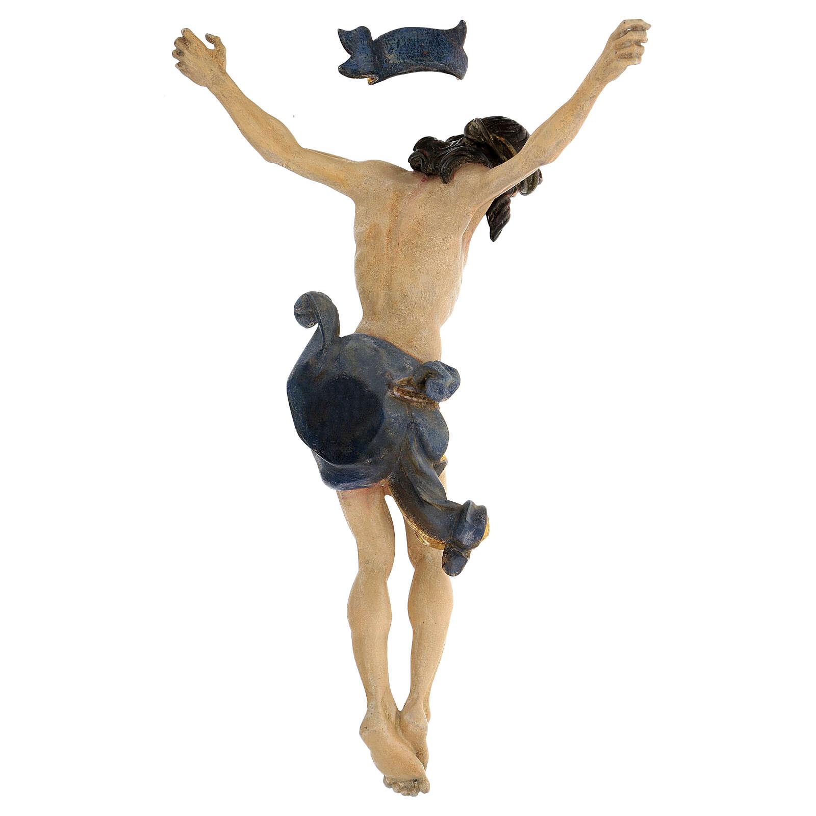 Leib Christi Mod. Leonardo Grödnertal Holz antikisiert 4
