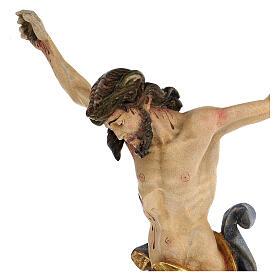 Leib Christi Mod. Leonardo Grödnertal Holz antikisiert s2