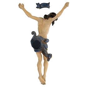 Leib Christi Mod. Leonardo Grödnertal Holz antikisiert s6