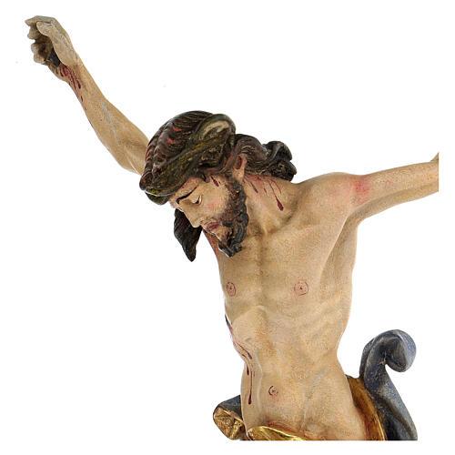 Leib Christi Mod. Leonardo Grödnertal Holz antikisiert 2