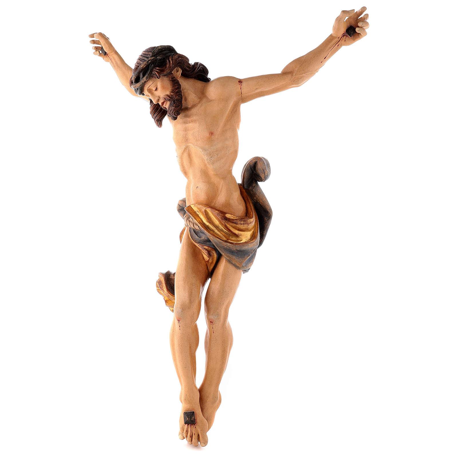 Christ's body Leonardo antique pure gold 4