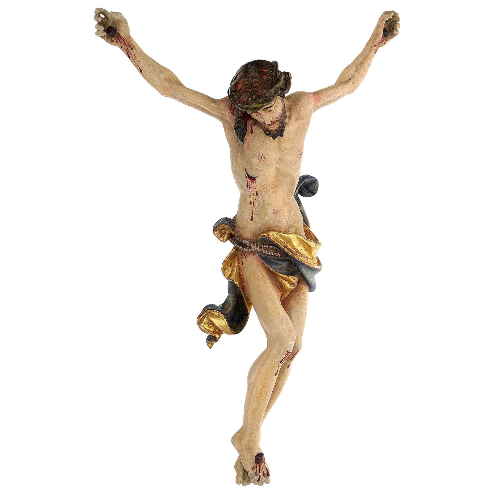 Ciało Chrystusa Leonardo czyste złoto wyk. antyczne 4
