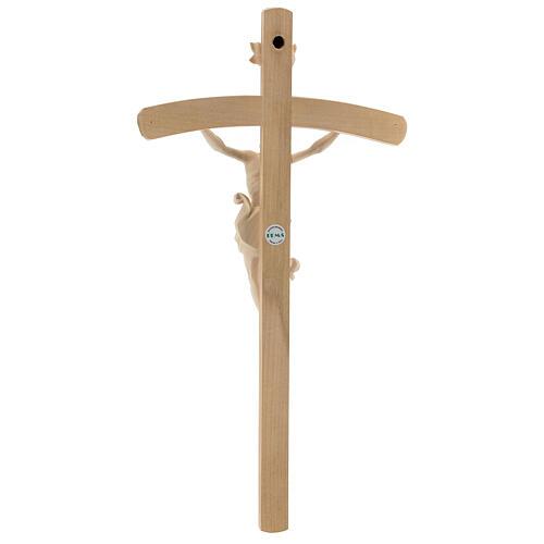 Crucifix Leonardo cross natural curved 5