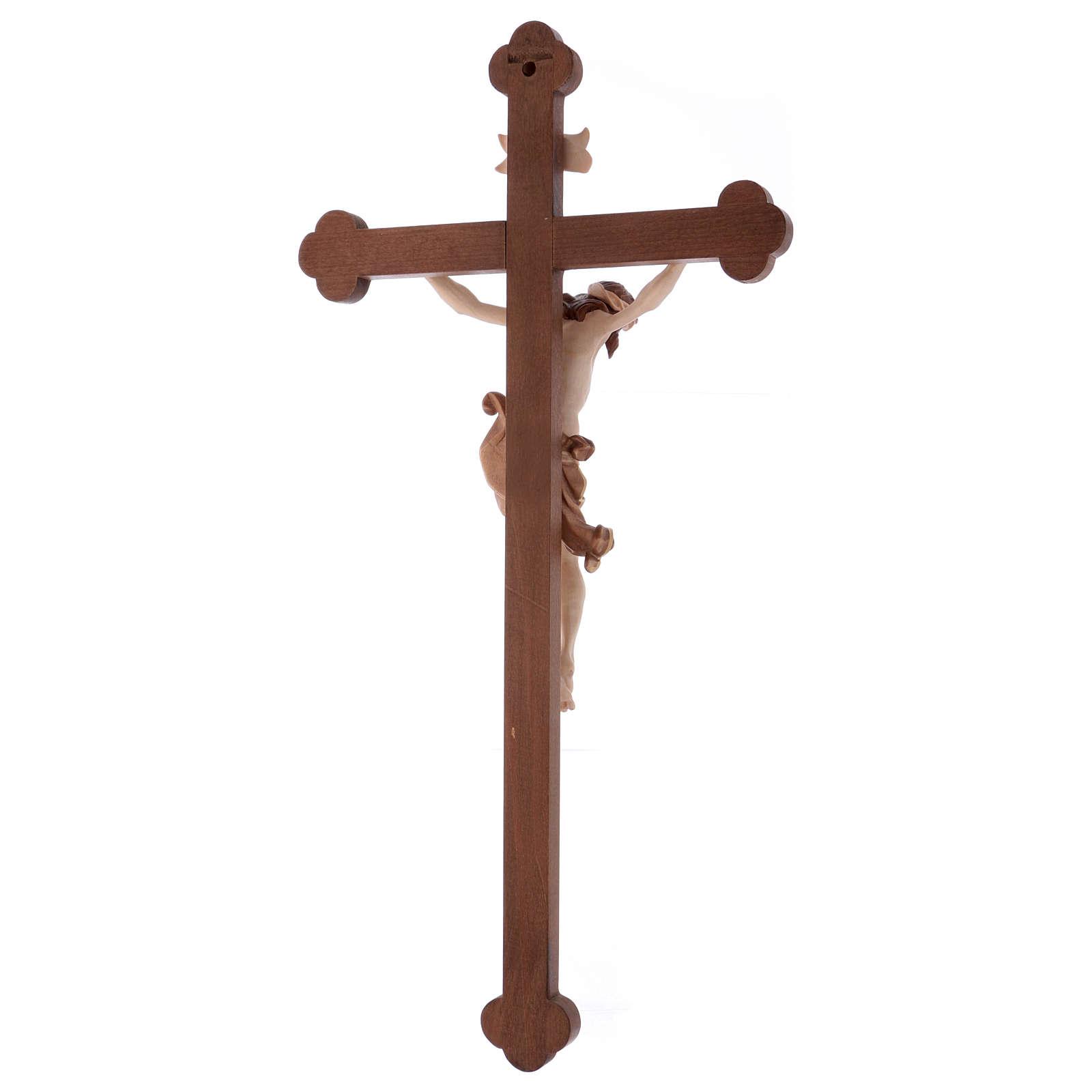 Crocefisso Leonardo croce brunita barocca brunito 3 colori 4