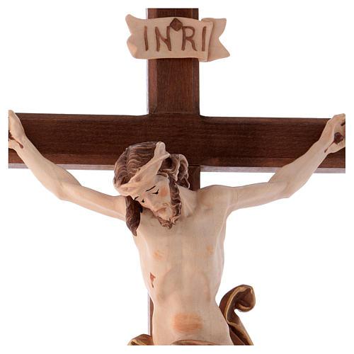 Crocefisso Leonardo croce brunita barocca brunito 3 colori 2
