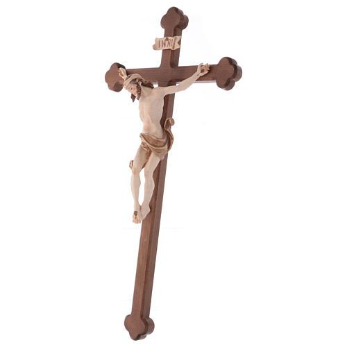 Crocefisso Leonardo croce brunita barocca brunito 3 colori 3