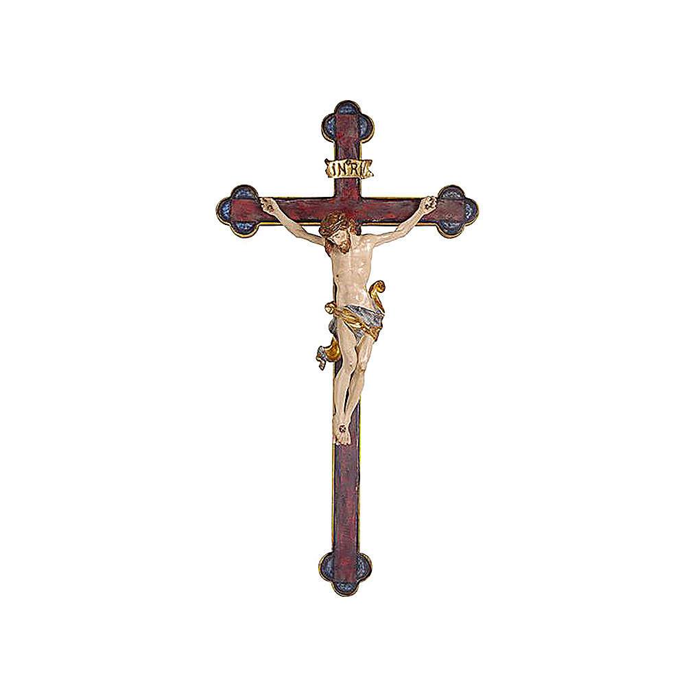 Crocefisso Leonardo oro zecchino croce barocca oro 4