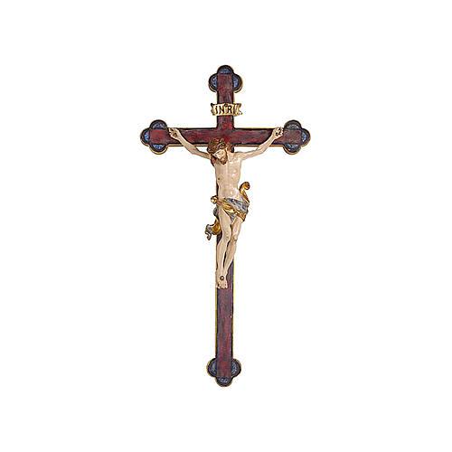 Crocefisso Leonardo oro zecchino croce barocca oro 1