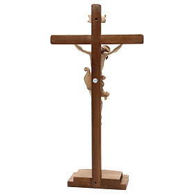 Leonardo crucifix with cross and base burnished in 3 colours s5
