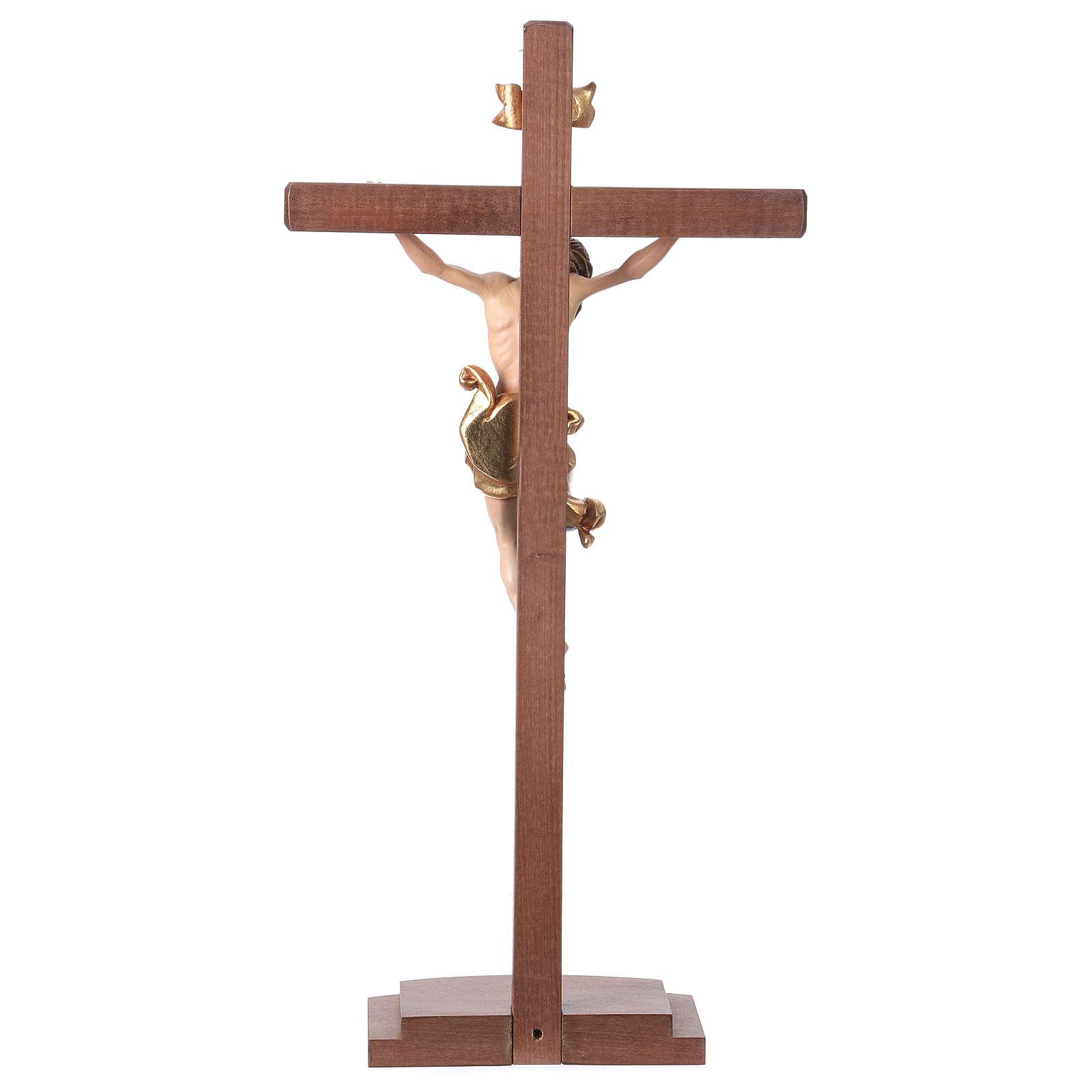 Leonardo crucifix coloured with cross and base 4