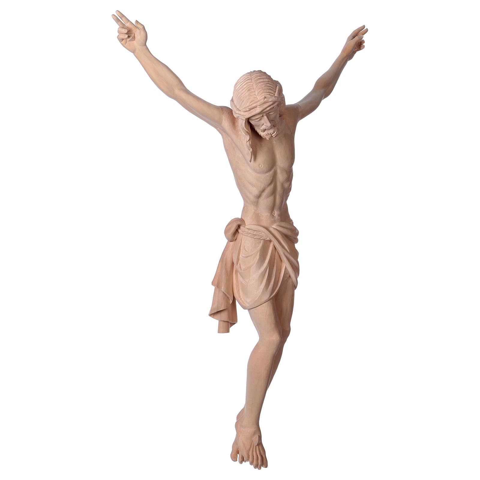 Body of Jesus Christ Siena in natural wood 4