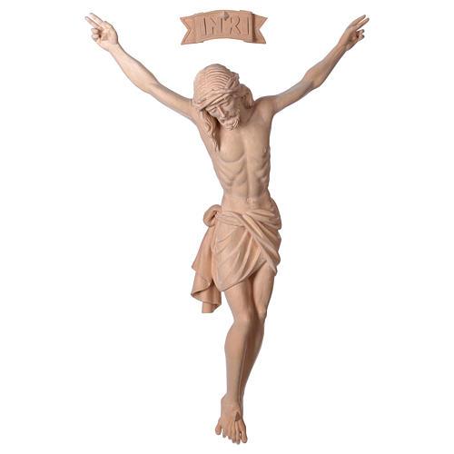 Body of Jesus Christ Siena in natural wood 1