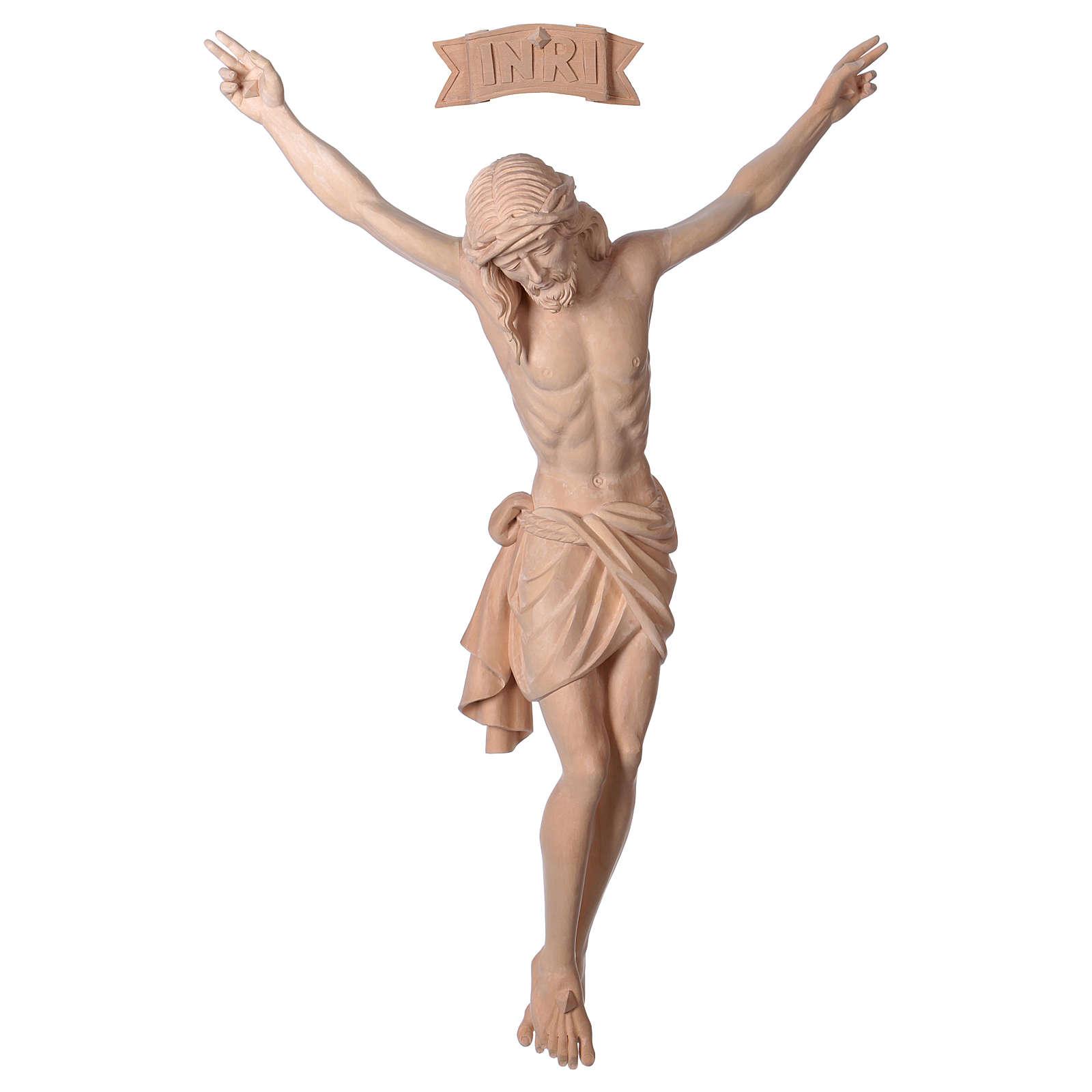Corps Christ Sienne bois naturel 4