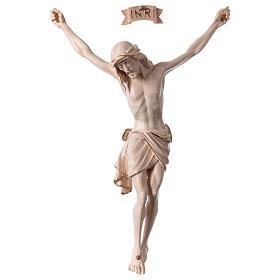 Crocifissi in legno: Corpo Cristo Siena cera filo oro