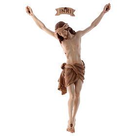 Crucifixos de Madeira: Corpo Cristo Siena brunido 3 tons