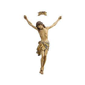 Corpo Cristo Siena manto oro zecchino antico 60 cm s1