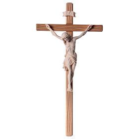 Crocefisso legno naturale Cristo Siena  s1