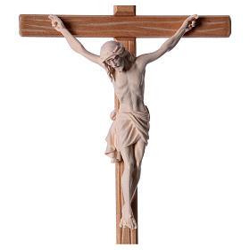 Crocefisso legno naturale Cristo Siena  s2