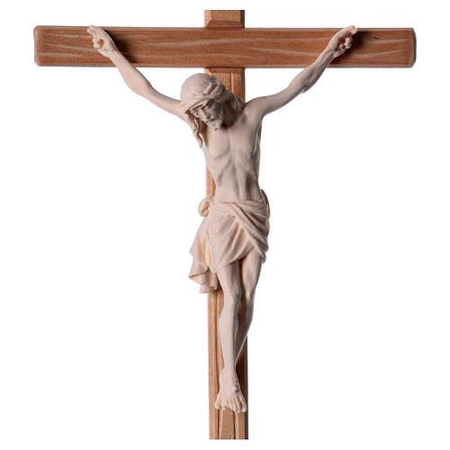 Crocefisso legno naturale Cristo Siena  2