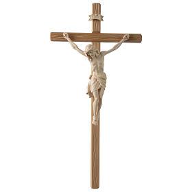 Crocefisso Cristo Siena croce diritta colorato s1