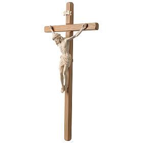 Crocefisso Cristo Siena croce diritta colorato s3