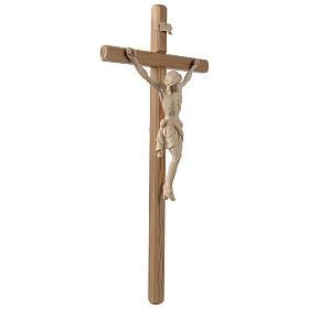 Crocefisso Cristo Siena croce diritta colorato s4
